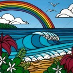 Heather Brown North Shore Rainbow