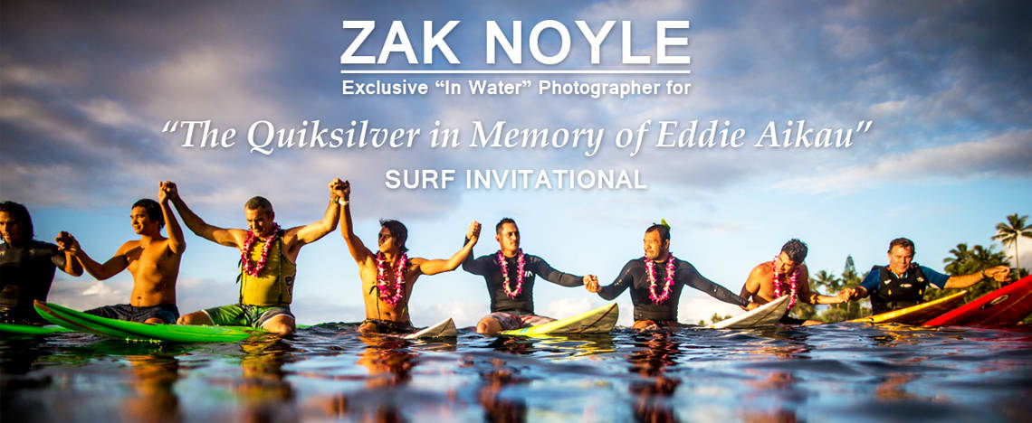 Zak Noyle - Exclusive In Water Photographer for The Eddie
