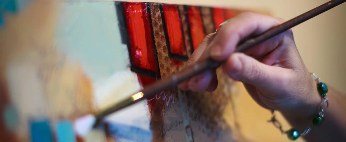 John & Elli Milan Painting