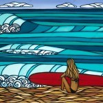 Heather Brown Surf Girl