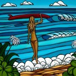 Heather Brown Surf Stroll