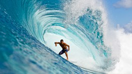 Zak Noyle Barreled - Surf Photo