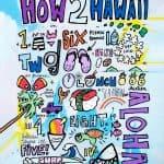 Welzie Art - How 2 Hawaii - Tropical Hawaii Inspired Painting