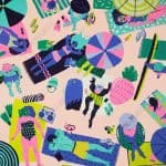 Beach Party by Kim Sielbeck