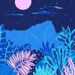 Blue Hawaii by Kim Sielbeck