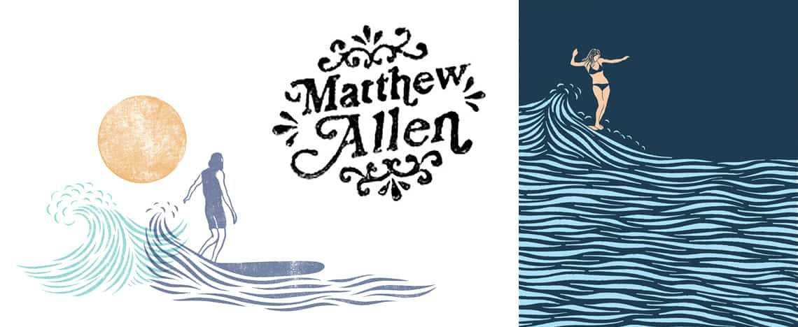 Matt Allen Surf Artist and Designer